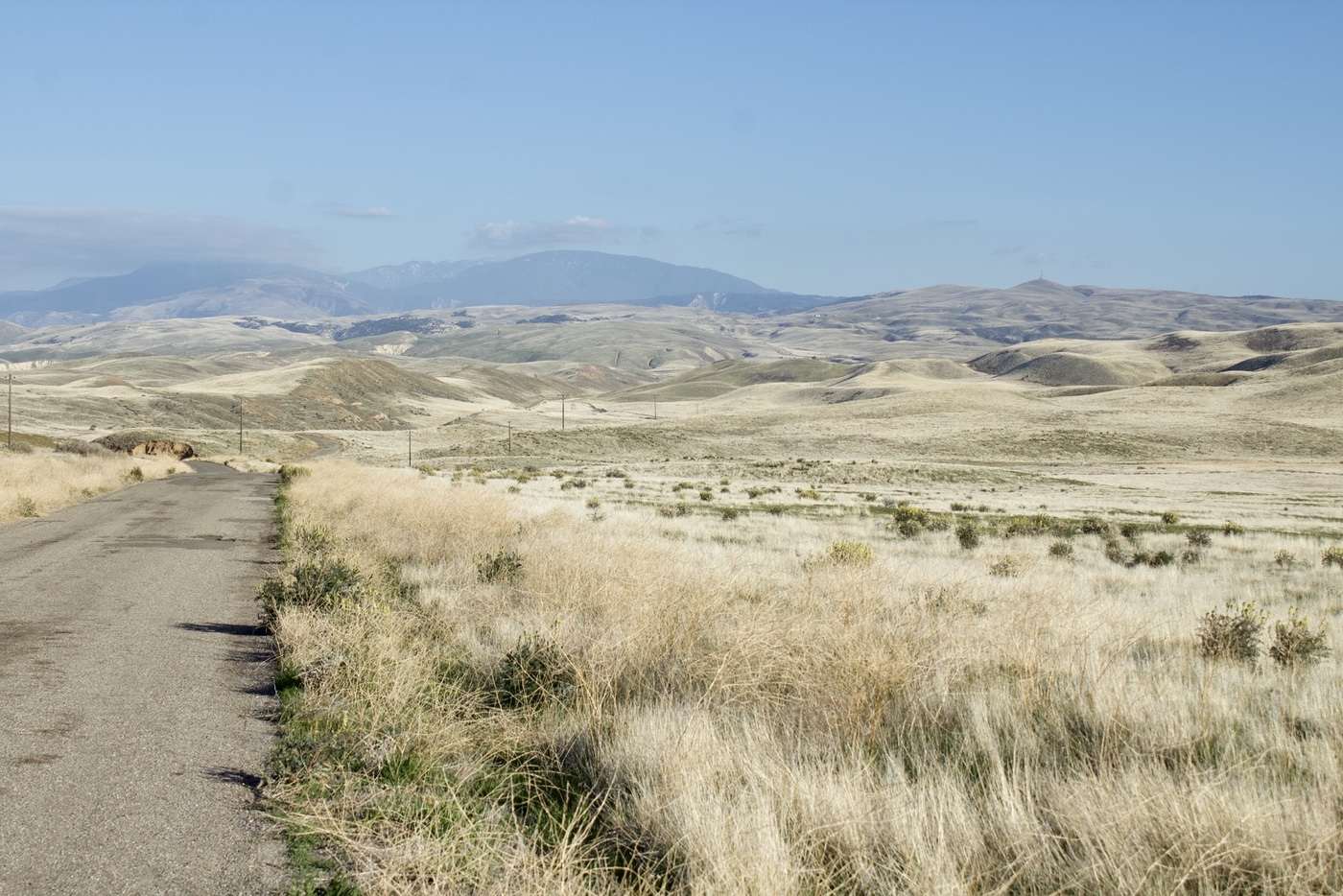 The southern end of Carrizo Plain